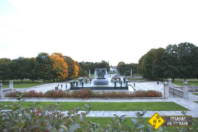 Parque Vigeland em Oslo.
