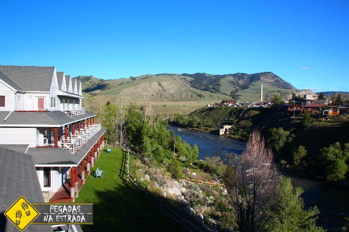 Absaroka Lodge, Gardiner. Foto: CFR / Blog Pegadas na Estrada