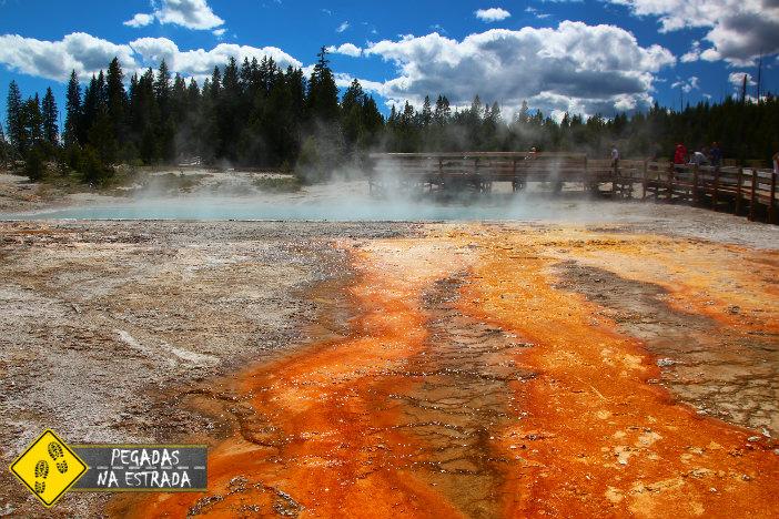 West Thumb Basin. Foto: CFR / Blog Pegadas na Estrada