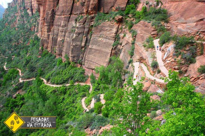 Angels Landing Zion trilhas