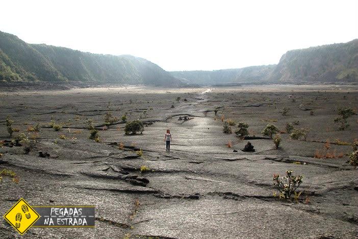 Parque Nacional dos Vulcões Havaí