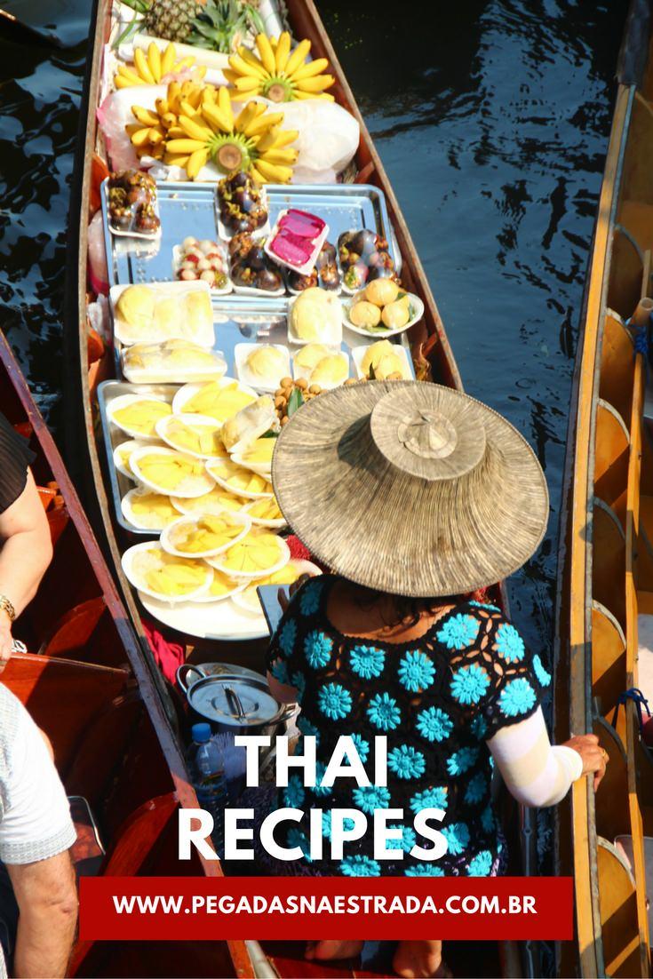 Aprenda um pouco mais sobre a culinária tailandesa e aprenda a fazer deliciosas receitas Thai!