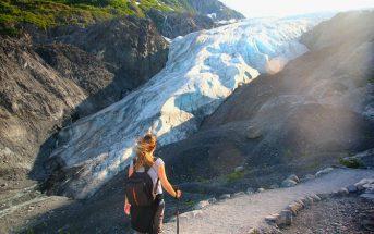 Kenai Fjords Alasca Trail Exit