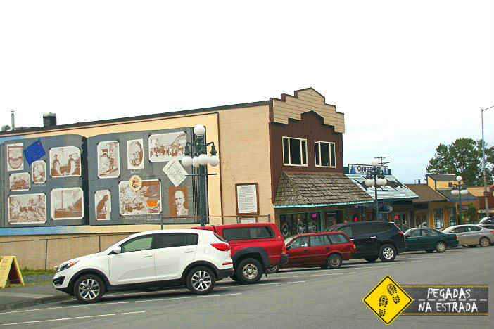 Centro histórico Seward Alasca