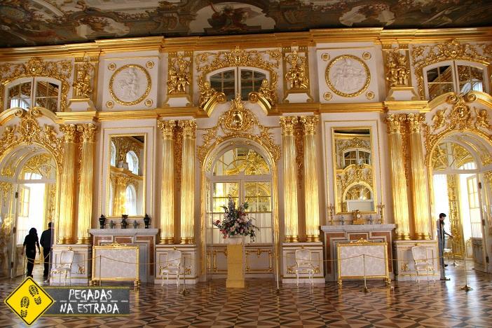 Interior do Palácio de Catarina Rússia