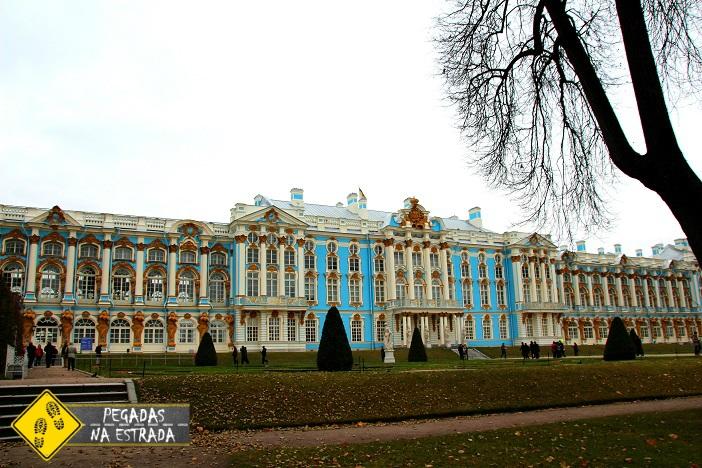 Roteiro São Petersburgo Palácio de Catarina