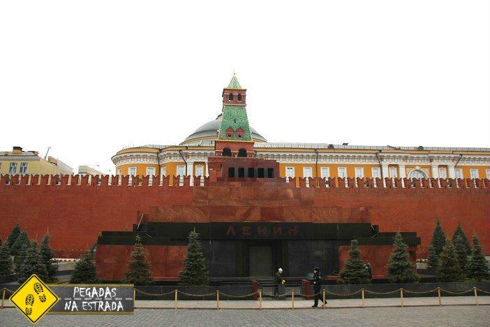 Mausoléu de Lênin Praça Vermelha Moscou
