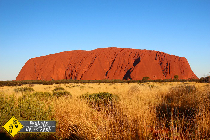 Pôr do sol Uluru