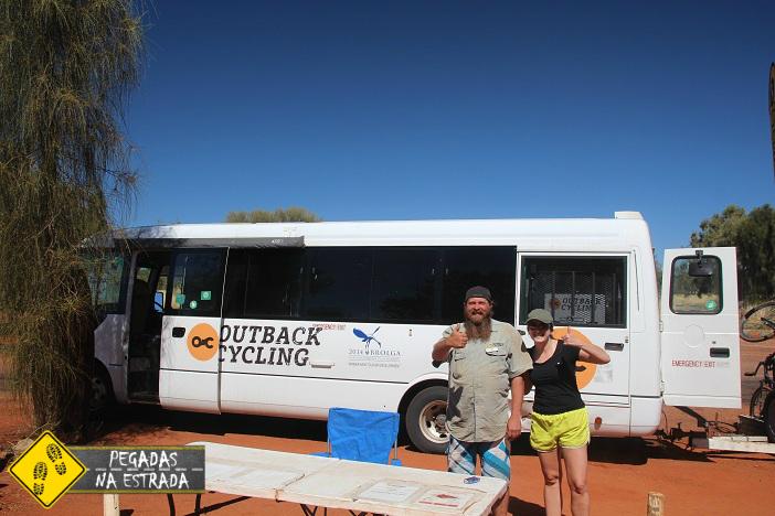 Bicicleta Uluru Austrália