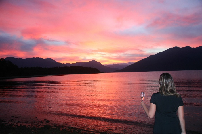 Lake Te Anau New Zealand