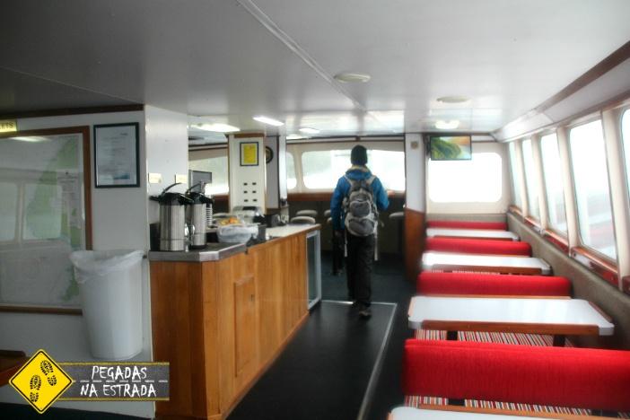 Navegação Milford Sound