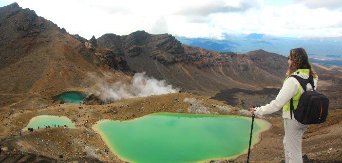 Tongariro Alpine Crossing Nova Zelândia