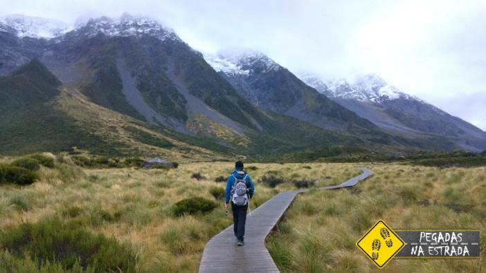 Mount Cook Hooker Valley Nova Zelândia