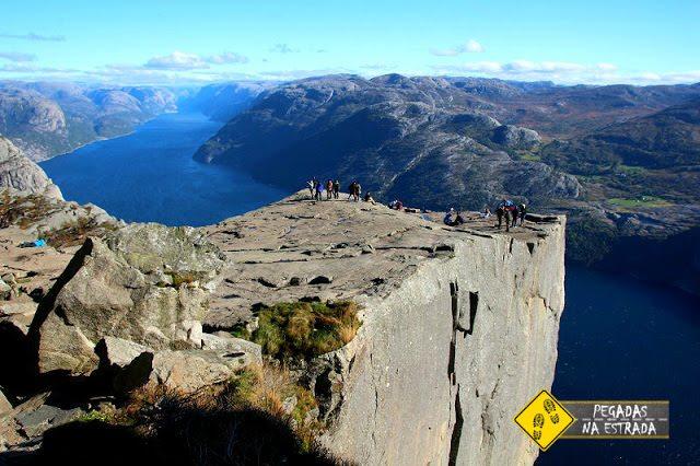 Pulpit Rock Noruega trilhas