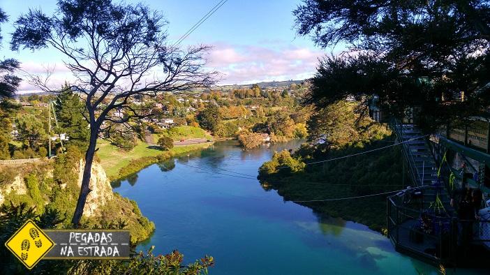 Bungy jump Waikato nova Zelândia