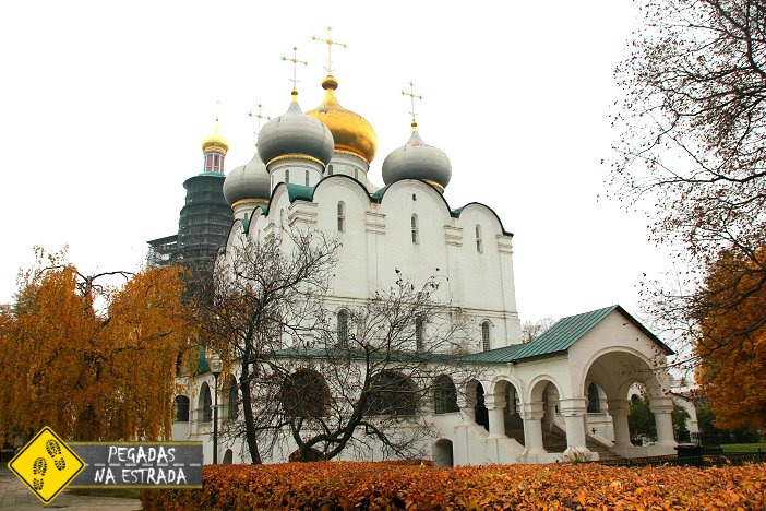 Convento Novodevichy roteiro Moscou