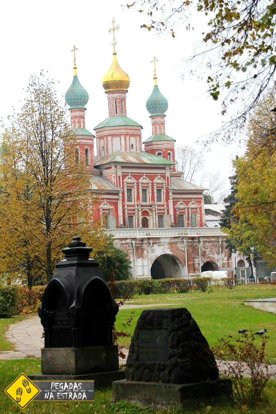 Pontos de interesse Moscou
