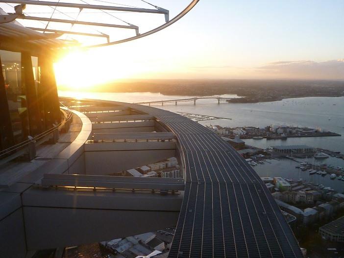 Skywalk adrenalina Nova Zelândia