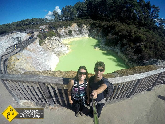 atividade geotérmica Nova Zelândia