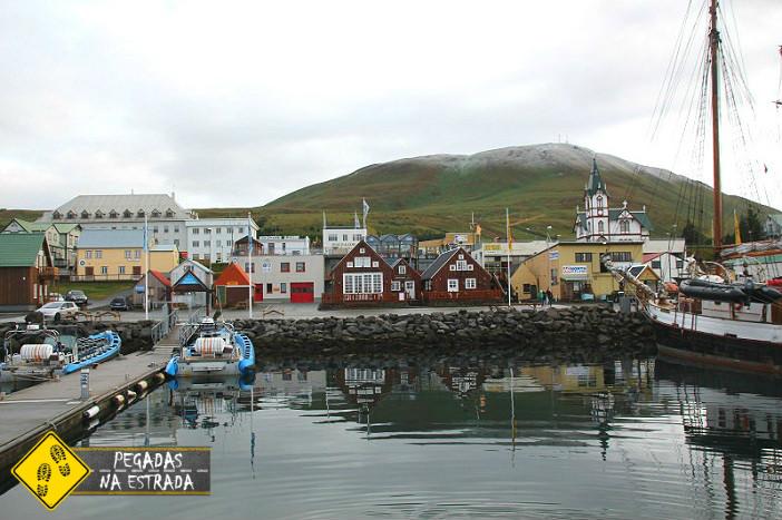 islandia iceland harbour Husavik