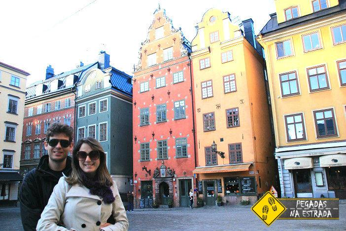 Bairro de Gamla Stan, Estocolmo. Foto: CFR / Blog Pegadas na Estrada