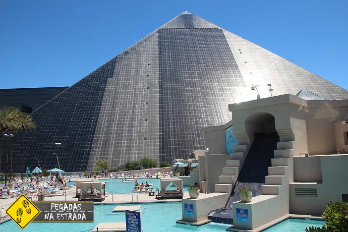 Hotel Luxor em Las Vegas. Foto: CFR / Blog Pegadas na Estrada