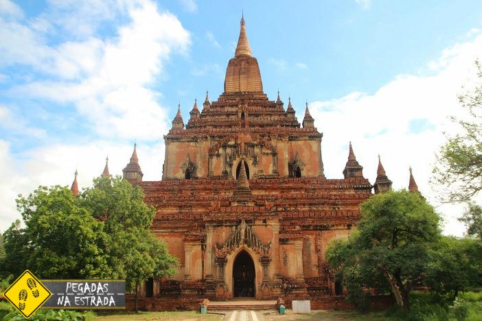 burma birmania bagan myanmar