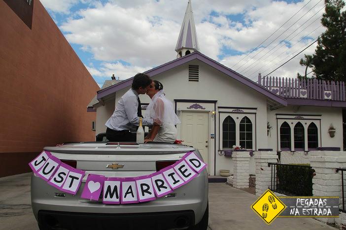 Nosso casamento na capela Wee Kirk o'the Heather Wedding. Foto: CFR / Blog Pegadas na Estrada