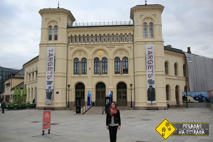 Centro Nobel da Paz, Oslo. Foto: RMA / Blog Pegadas na Estrada
