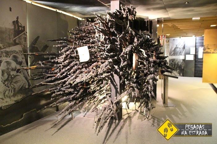 Visita ao Museu da Resistência Norueguesa, no Complexo Akerushus. Foto: CFR / Blog Pegadas na Estrada