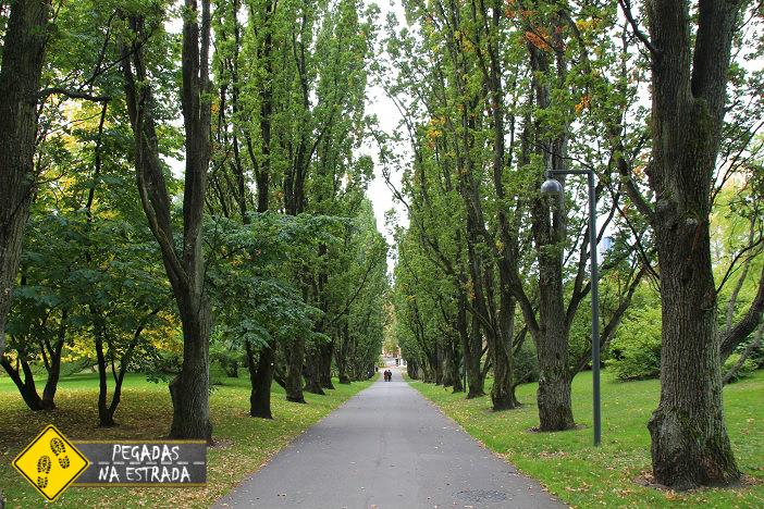Passeio pelo Jardim Botânico de Oslo. Foto: CFR / Blog Pegadas na Estrada