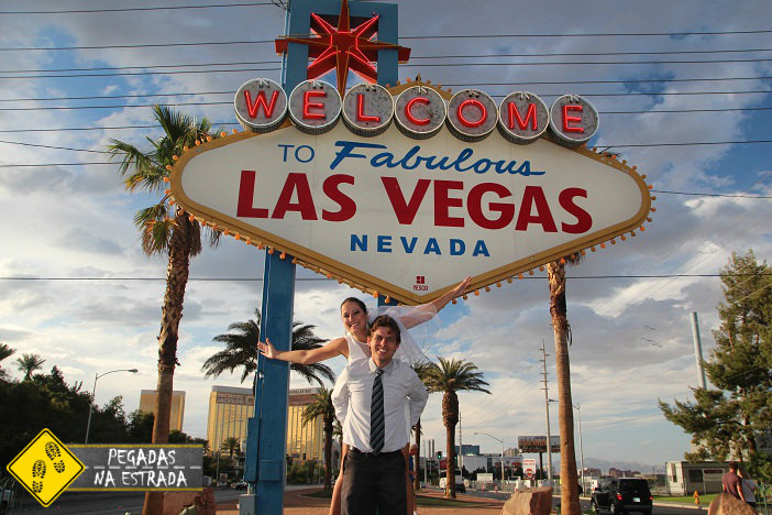 Welcome to Fabulous Las Vegas. Foto: CFR / Blog Pegadas na Estrada