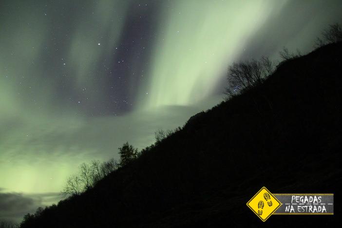 Aurora Boreal em Tromso, Noruega. Foto: CFR / Blog Pegadas na Estrada