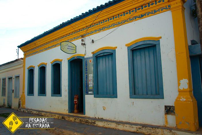Centro de Artesanato da Região de Januária. Foto: CFR / Blog Pegadas na Estrada