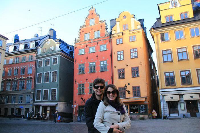 Gamla Stan, Estocolmo. Foto: CFR / Blog Pegadas na Estrada