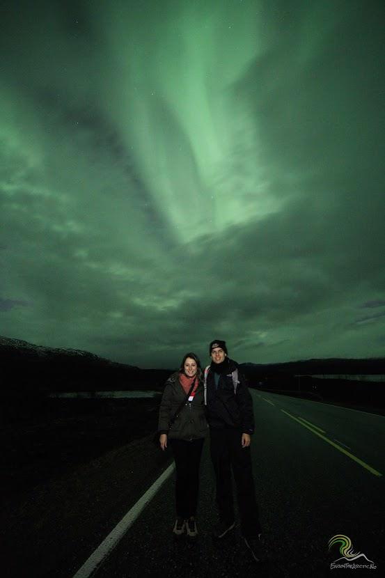 Aurora Boreal em Tromso. Foto: Andrei / Blog Pegadas na Estrada