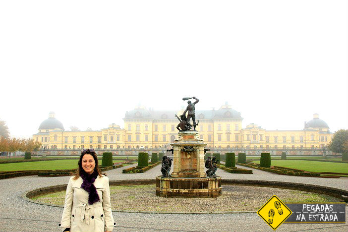 Palácio Drottningholm. Foto: RMA / Blog Pegadas na Estrada