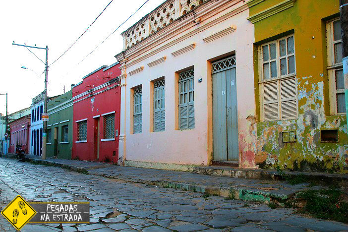 Rua Visconde de Ouro Preto, Januária. Foto: CFR / Blog Pegadas na Estrada