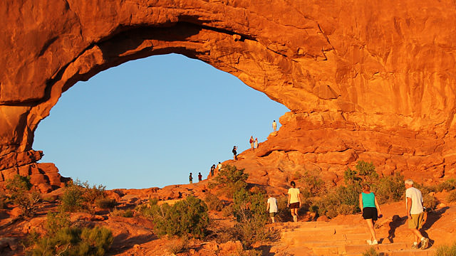 Arches National Park. Fonte: www.discovermoab.com/