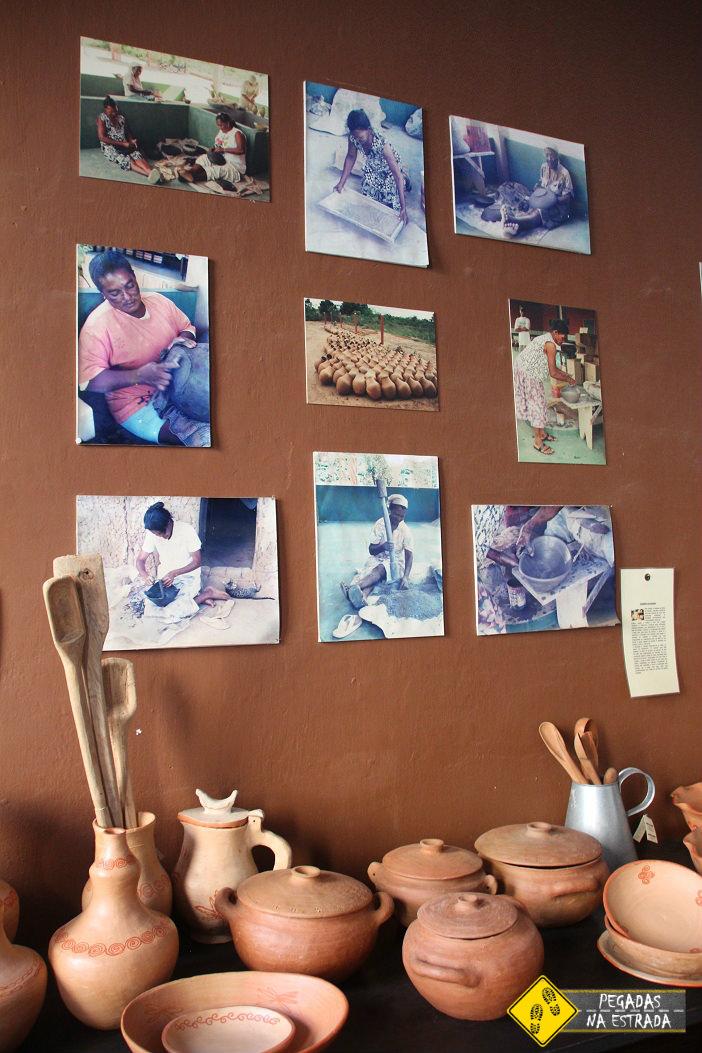 Artesanato de barro. Foto: CFR / Blog Pegadas na Estrada