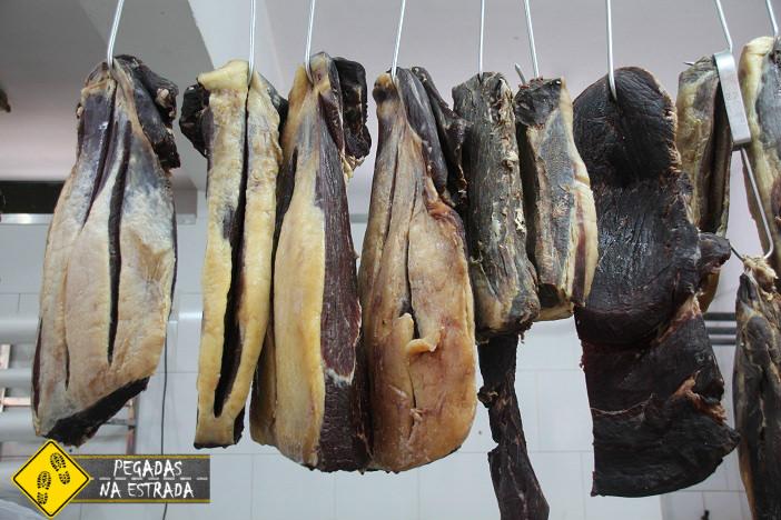 Carne de sol e Carne seca do Norte de Minas. Foto: CFR / Blog Pegadas na Estrada