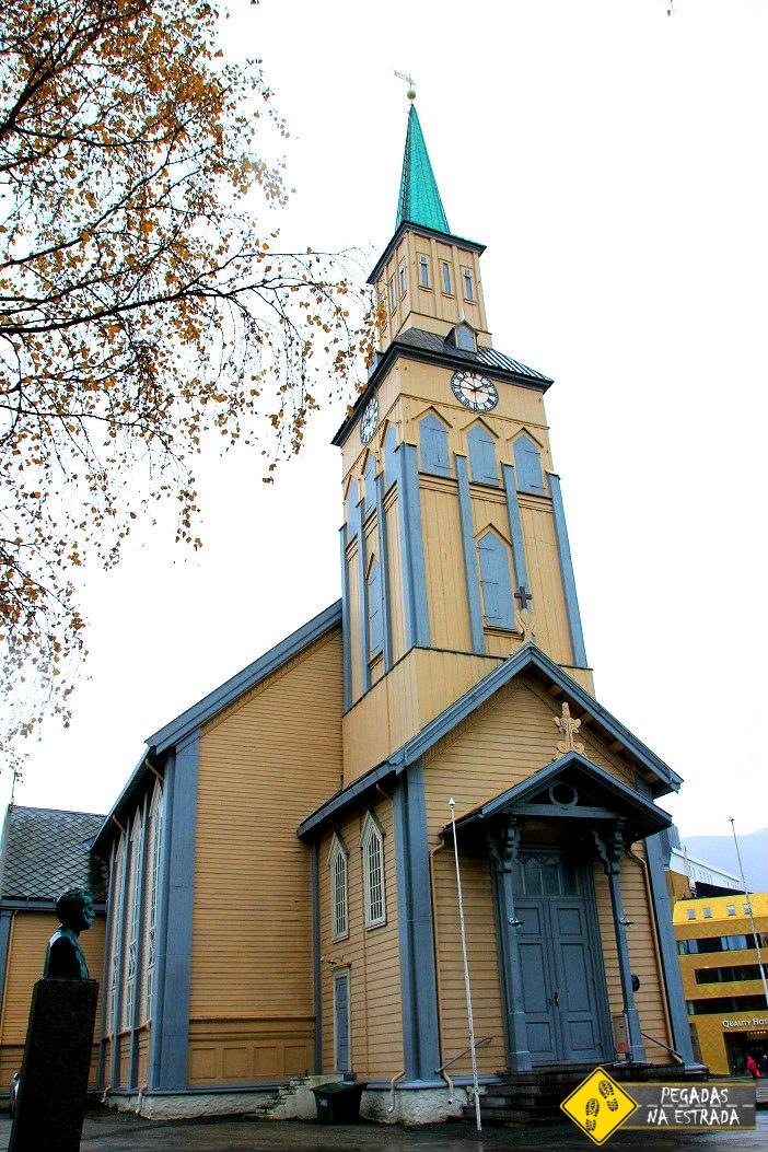 Catedral de Tromso. Foto: CFR / Blog Pegadas na Estrada