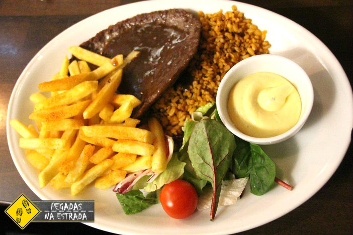 Comida Sueca em Gamla Stan. Foto: CFR / Blog Pegadas na Estrada