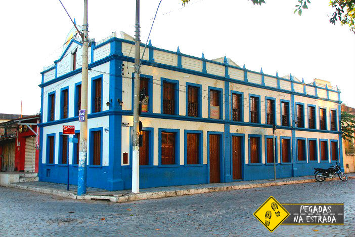Hotel antigo na Rua Visconde de Ouro Preto. Foto: CFR / Blog Pegadas na Estrada