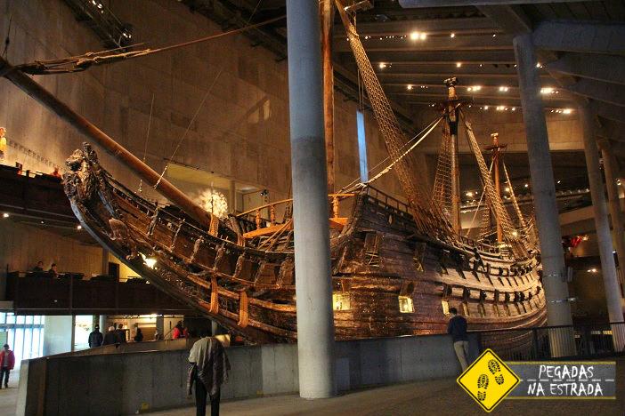 Museu Vasa em Estocolmo. Foto: CFR / Blog Pegadas na Estrada
