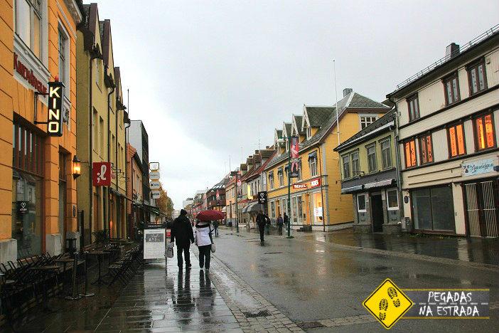 Centro Histórico de Tromso. Foto: CFR / Blog Pegadas na Estrada