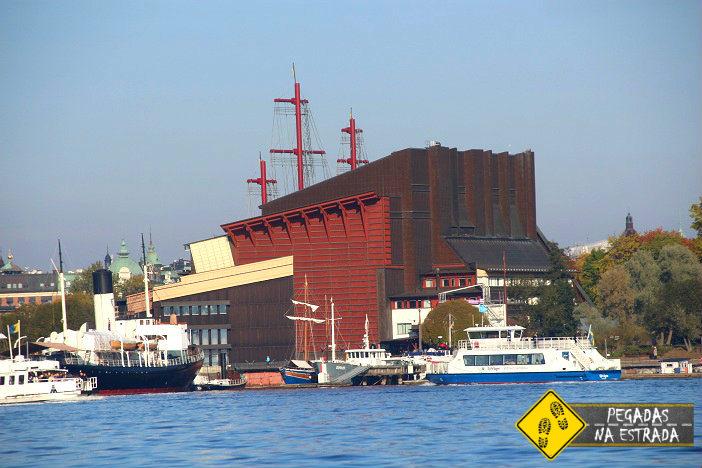 Royal Canal Tour em Estocolmo. Foto: CFR / Blog Pegadas na Estrada
