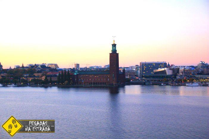 Vista de Estocolmo a partir de Monteliusvagen. Foto: CFR / Blog Pegadas na Estrada