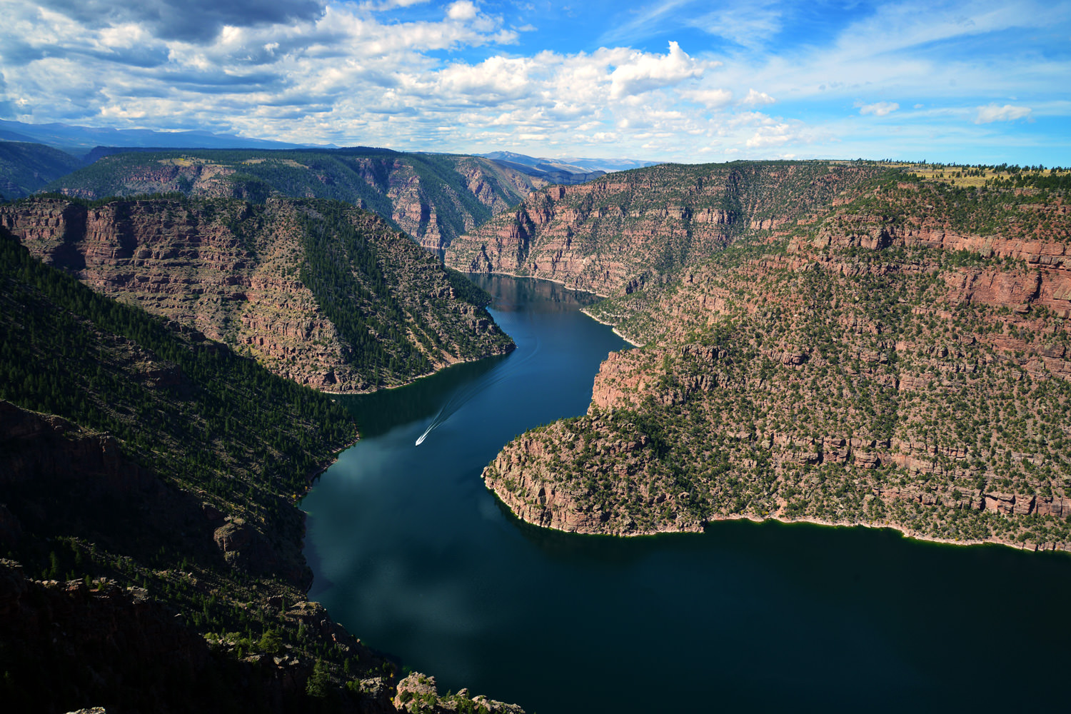 Flaming Gorge. Foto: www.usbr.gov