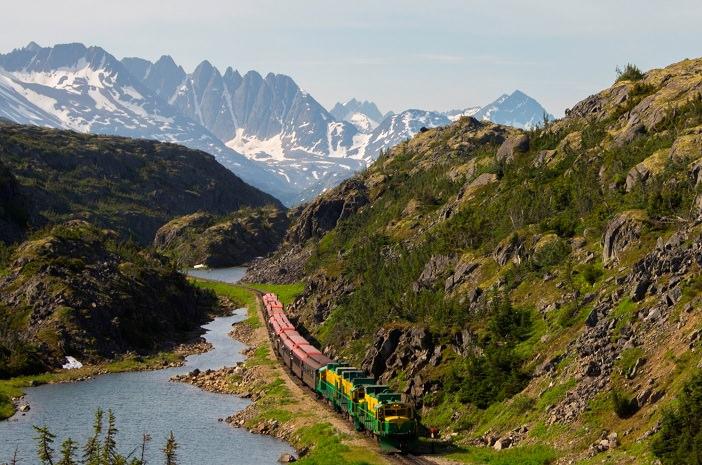 White Pass & Yukon Route. Foto: www.alaska.org